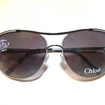 Chloe Metal Aviator Sunglasses Photo
