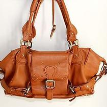 Chloe Paddington Camel Handbag for Restoration Parts Free Shipping Photo