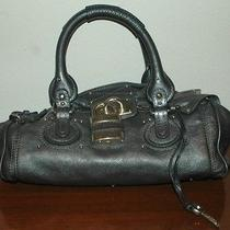 Chloe Paddington Metallic Grey/blue Photo