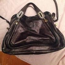 Chloe Paraty Metallic Bag Photo