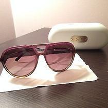 Chloe Purple Aviator Sunglasses Photo