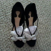 Chloe Rare Sequin Bow Heels Photo