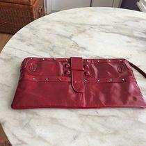 Chloe Red Clutch Purse Photo