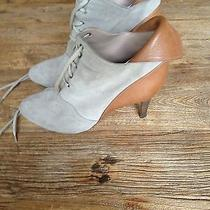 Chloe Short Suede Leather Booties Photo