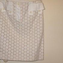 Chloe Silk Cotton Skirt Nwot Photo