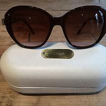 Chloe Sunglasses Brown Frame/brown Lens Cl2261 Photo
