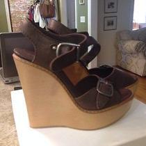 Chloe Wedge Sandals 40.5 Photo