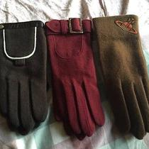 Chloe Women Gloves-Red Color Photo