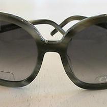 Chloe Women's Grayish Black Jackie O Style Sunglasses Cl2189a4 - New 300.00 Photo