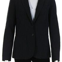 Chloe Women's Two Button Collar Blazer Dark Gray Size 40 Ll19ll Photo