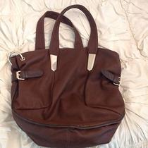 Chocolate Brown Extra Large Handbag Hobo Tote. Photo