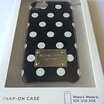 Choice of Michael Kors White Dot Iphone 5s/5 Hardshell Case Pink/black  Photo