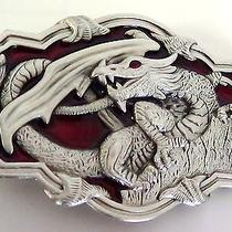 Choose a Medieval Fantasy Dragon Belt Buckle Father's Day Gift Usa Seller Photo
