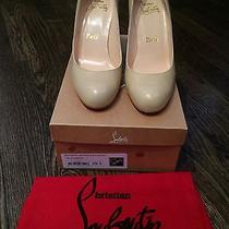 Chrisitan Louboutin 'Miss Boxe' Wedge Size 40 New With Box Photo