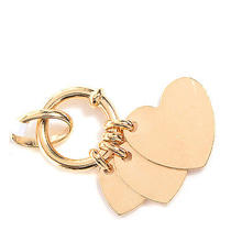 Christian Dior 18k Yellow Gold Heart Charm Pendant Jewelry Accessory Photo