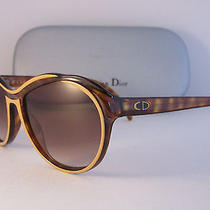 Christian Dior 2155 10 Sunglasses Rare Unique Design Vintage Nos Photo