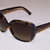 Christian Dior Authentic Sunglasses Taffeta 2 2fw/ha Brown Havana Brown Gradient Photo