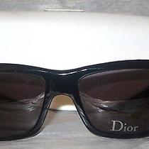Christian Dior Aventura 2 Black Plastic Sunglasses Nwot Photo