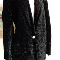 Christian Dior Black Velvet Jacket Size - 14 / Separates / Photo