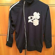 Christian Dior Blue Zipper Jacket With Clover (Size Medium) Made in Italy Photo