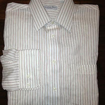 Christian Dior Button Sown Dress Shirt Men's Size 15 34/35 New Photo