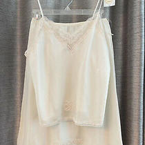 Christian Dior Camisole and Half Slip Set Off White New With Tags 1980s Photo