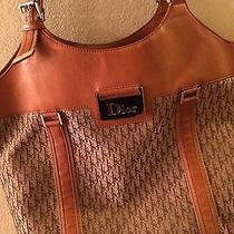 Christian Dior Canavas Tote Photo