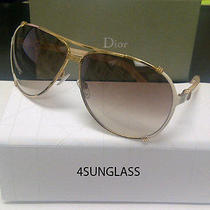 Christian Dior  Chicago 2 Sunglasses Rose Gold Cream Photo