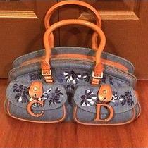 Christian Dior Denim Handbag Photo