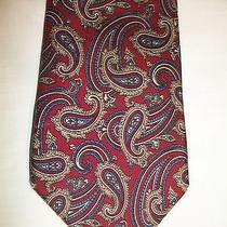 Christian Dior Designer Skinny Neck Tie. High End 100% Silk Necktie Usa Made. Photo