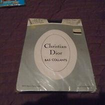 Christian Dior  Dior Opaque  One Size Plain Knit Tights in  French Navy Photo
