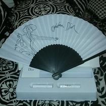 Christian Dior Eventail Collectible Fan Photo