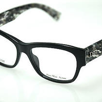 Christian Dior  Eyeglasses Cd 3252  col.02x5 Black  New Photo