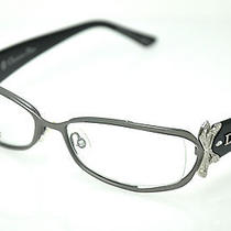 Christian Dior  Eyeglasses Cd 3757  Col. 27h  Gunmetal  New Photo