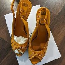 Christian Dior Gipsy Sling Platform sandals.size It 39/us 9 Photo