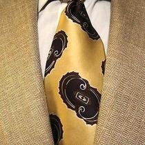 Christian Dior Gold Necktie Photo
