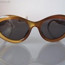 Christian Dior Gold Optical Sunglasses - Authentic Photo