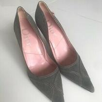 Christian Dior Gray Pumps Pre-Owned Sz 40 Photo