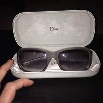 Christian Dior Gray Sunglasses Photo