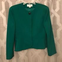 Christian Dior Green Skirt Suit Size 10 Photo