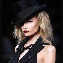 Christian Dior Hat Fur Black Couture S-M Blogger Fashion Vogue Snow Winter Photo