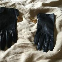 Christian Dior Leather Gloves With Charms Photo