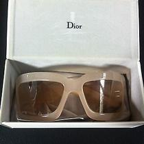 Christian Dior Light Sunglasses Retro Photo