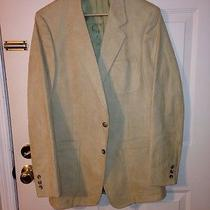 Christian Dior Luxury Suede Sports Coat Tan Photo