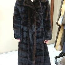 Christian Dior Mahogany Mink Stroller Fur Coat Photo