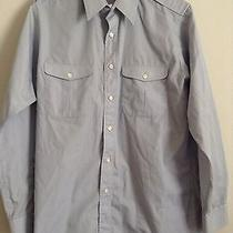 Christian Dior Medium Dress Shirt Gray Mens Long Sleeve Photo