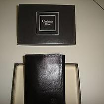 Christian Dior Men's Leather Wallet in Gift Box Photo