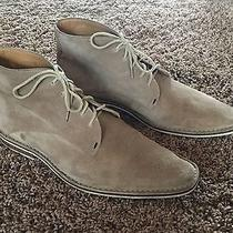 Christian Dior Men's Suede Leather Chukka Boots Photo