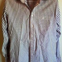 Christian Dior Mens Medium Dress Shirt Size M 15 1/2 Pre Owned Good Condition Photo