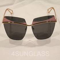 Christian Dior Metallic Sunglasses Rose Gold   Case and Cloth  Photo